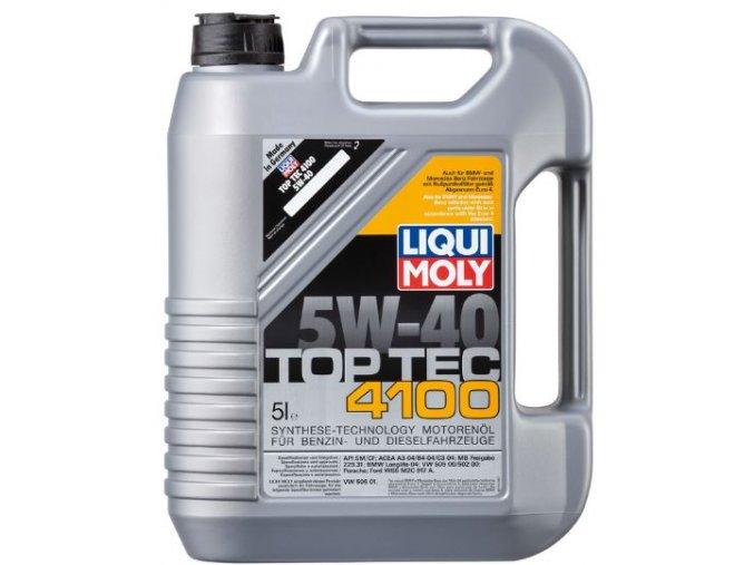 OLEJ 5W-40 TOP TEC 4100 5L Motorový olej