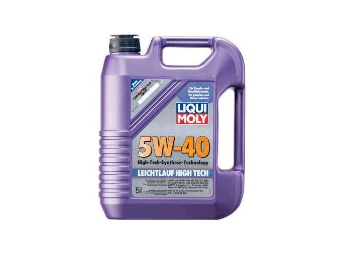 OLEJ 5W-40 LEICHTLAUF HIGH TECH 5L Motorový olej