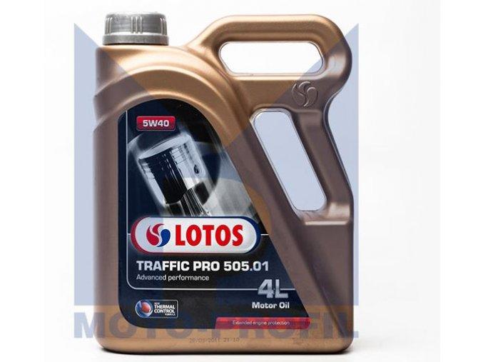 OLEJ 5W-40 LOTOS TRAFFIC PRO 505.01 4L Motorový olej