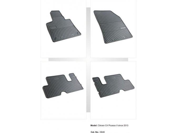 Gumové autokoberce CITROEN C4 Picasso ( 2013 -    )