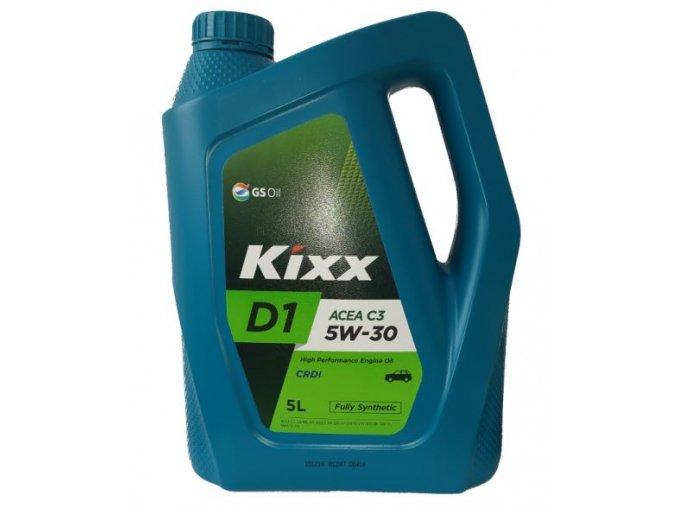 Motorový syntetický olej KIXX D1 5W-30, 5L, ACEA C3