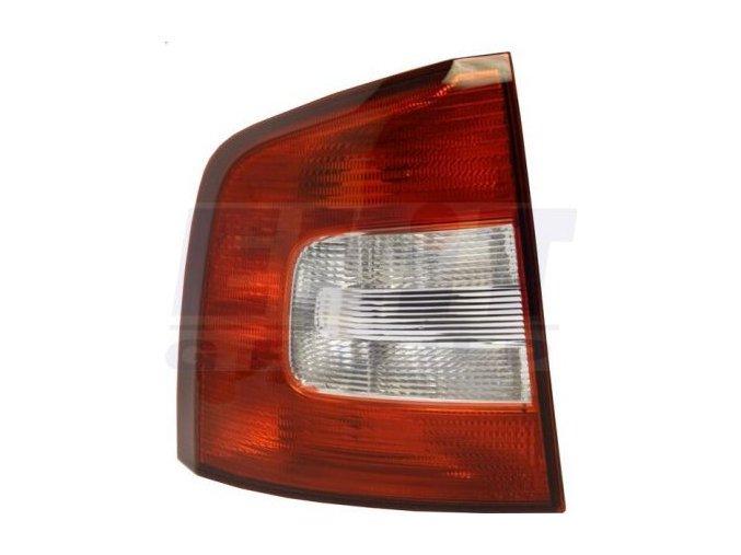 Zadní levé světlo ŠKODA OCTAVIA Combi facelift (1Z5) 2.0 TDI 16V, bez obj. COMBI; [originál] 11/08- -