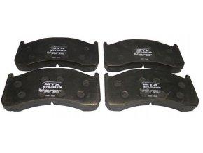 Brzdové desky SOR 10.5 zadní ,210x102.4x29