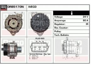 ALTERNATOR IVECO, K950-Irisbus IVECO