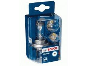Sada žárovek BOSCH - H4 12V MINIBOX Sortiment žárovek