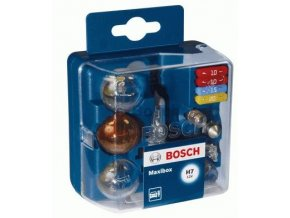 Sada žárovek BOSCH - H7 12V MAXIBOX Sortiment žárovek