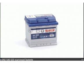 Baterie BOSCH 52AH/470
