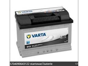 Baterie VARTA 70AH/640A P+ / - BLACK DYNAMIC