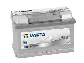 Baterie VARTA 74AH/750A P+ / E38 - SILVER DYNAMIC startovací baterie