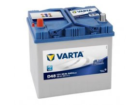 Baterie VARTA 60AH/540A L+ / D48 - BLUE DYNAMIC startovací baterie