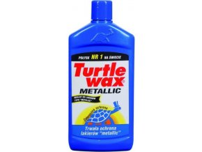 Tvrdý vosk METALLIC CAR WAX TURTLE WAX 500ML