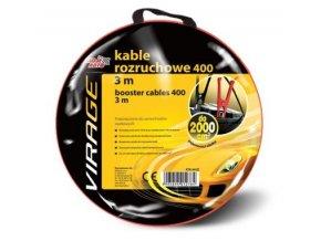 Startovací kabely 400A 3M  VIRAGE Pomocný startovací kabel