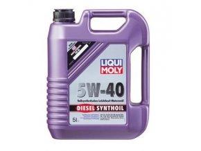 OLEJ 5W-40 DIESEL SYNTHOIL 5L Motorový olej