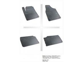 Gumové autokoberce SEAT Alhambra I 5 míst ( 1995 - 2010 )