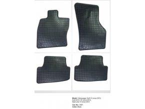 Gumové autokoberce SEAT Leon III ( 2013 - )