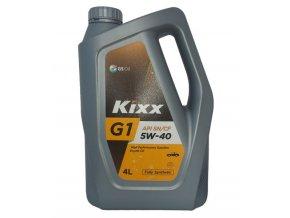 Motorový syntetický olej KIXX G1 5W-40, 4L, API SN/CF