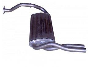 Výfuk Honda Civic / CRX 1.6i-16V, 87-91, zadní díl