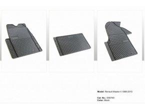 Gumové autokoberce RENAULT Master II 1998 - 2010
