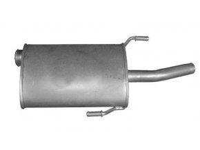 Výfuk Peugeot 406 Kombi 2.0i-16V, 99-03, zadní díl
