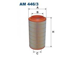 Vzduchový filtr MAN