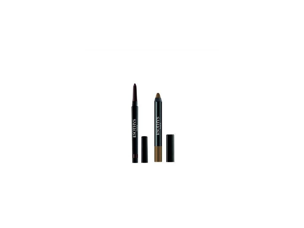 SOTHYS - Duo pro kouřové líčení očí 30 brun & kaki Sumba