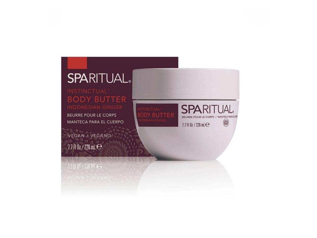 SpaRitual - Tělové máslo s vůní indonéského zázvoru 228 ml
