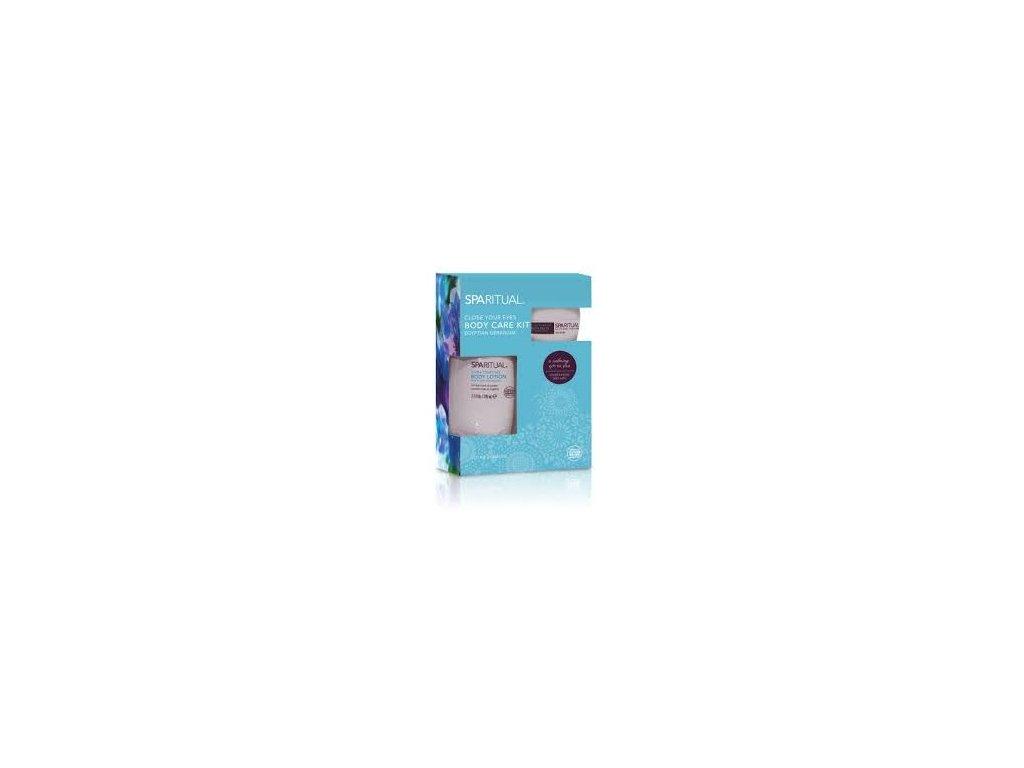 SpaRitual - Tělové mléko s vůní egyptské pelargonie  CARE KIT 228 ml+43g