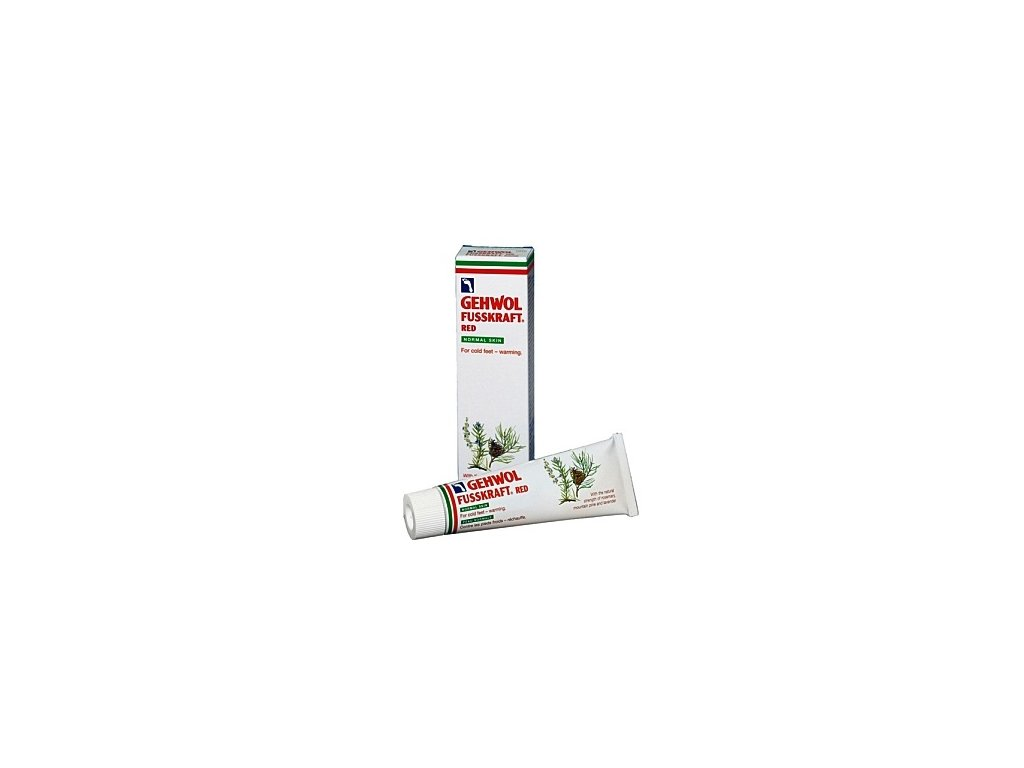 GEHWOL FUSSKRAFT Rot Normale Haut 75 ml