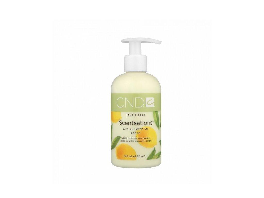CND  Hand Body Lotion Citrus/Green Tea 245ml