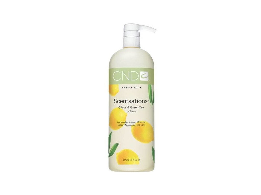 CND  Hand Body Lotion Citrus/Green Tea 917ml