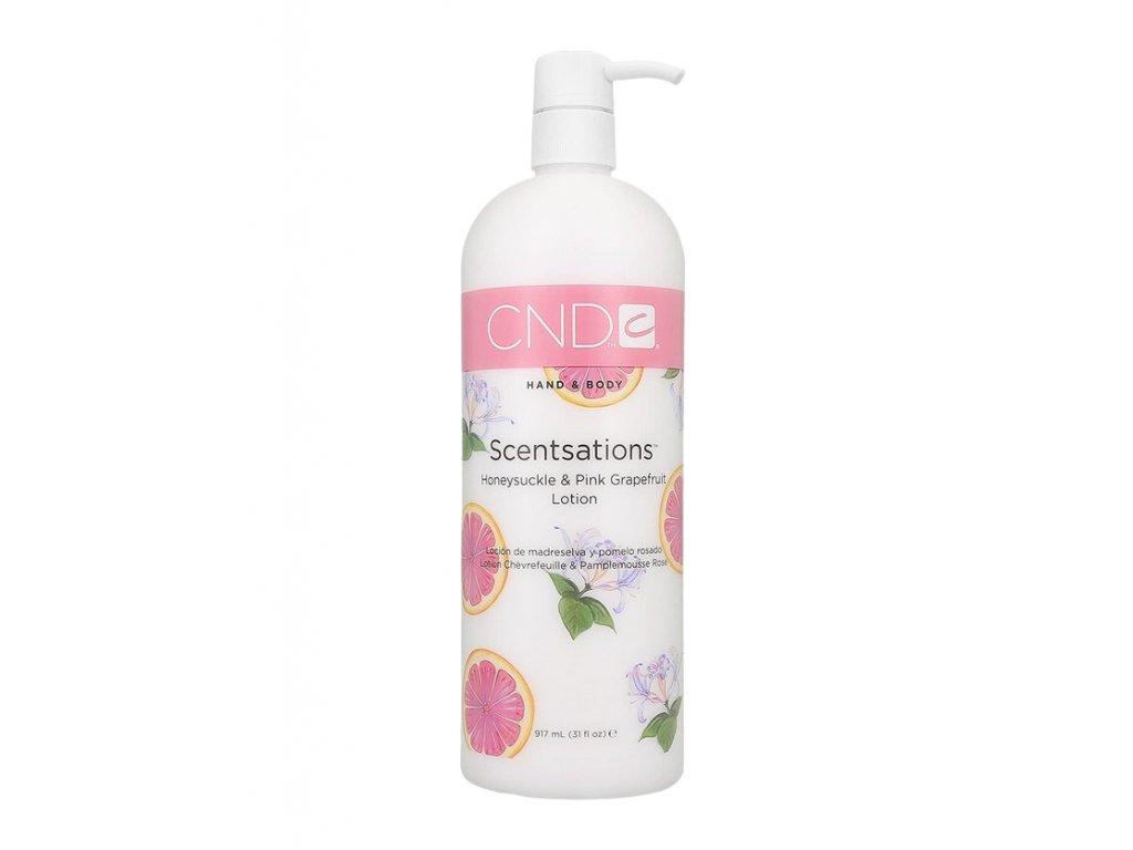 CND  Hand Body Lotion Honeysuckle/Pink Grapefruit 917ml