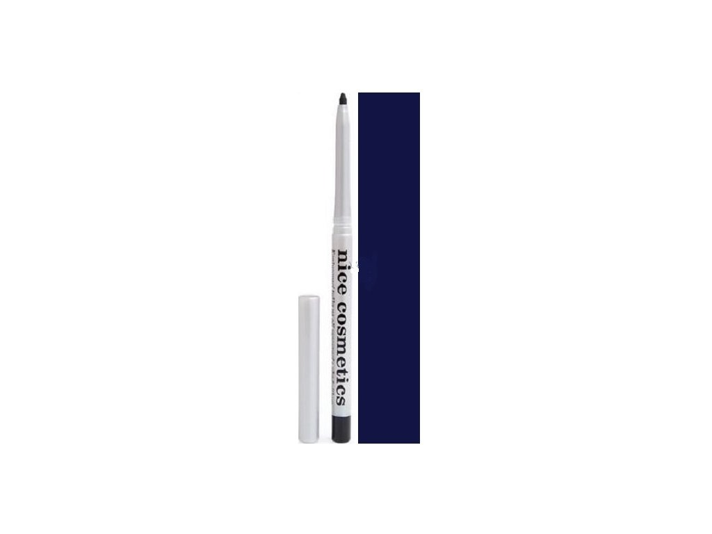 Vysouvací konturovací tužka na oči s ořezávátkem 06 MODRÁ