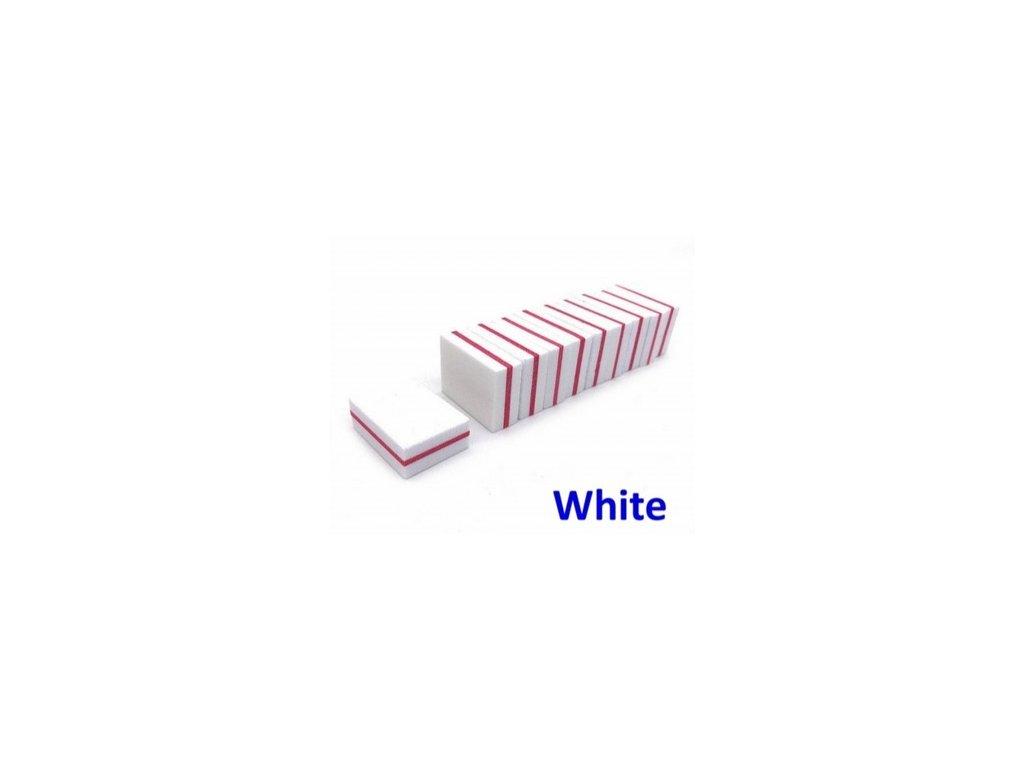 MINI BLOK na nehty WHITE