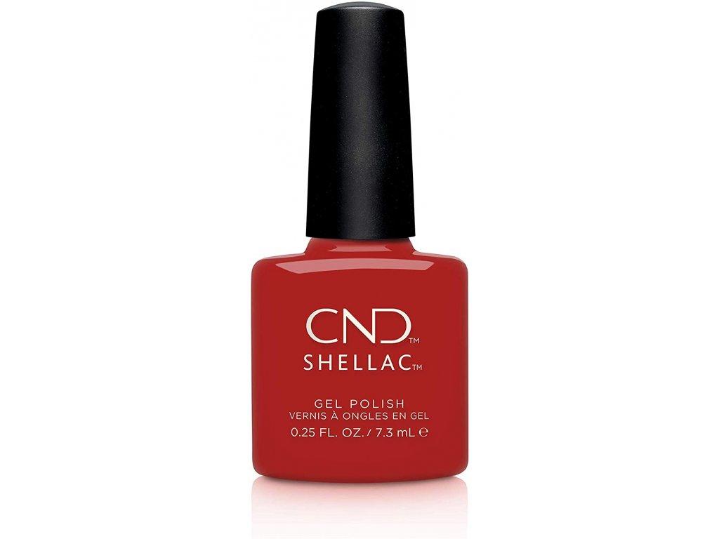 CND SHELLAC Gel Polish – Devil Red 7,3ml