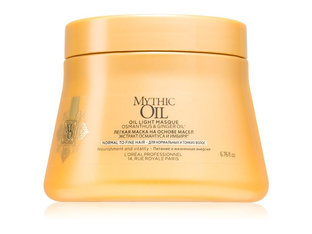 loreal professionnel mythic oil lehka olejova maska pro normalni az jemne vlasy 16