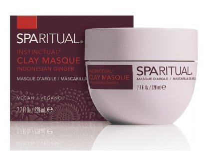 SpaRitual - Detoxikační bahenní maska na tělový zábal ze Zázvoru 228ml