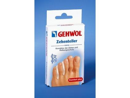GEHWOL Oddělovač prstů (Zehenteiler) malá 3 ks