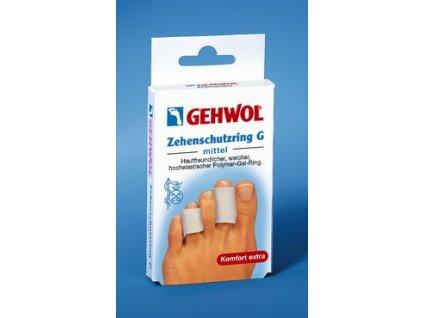 GEHWOL Ochranný kruhový návlek G (Zehenschutzring) střední 2 ks