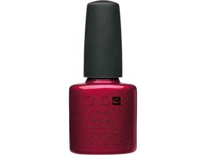 CND SHELLAC Gel Polish – Red Baroness 7,3ml