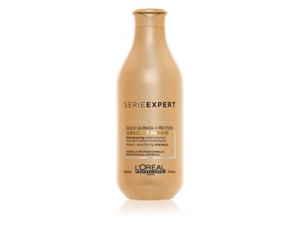 loreal professionnel serie expert absolut repair gold quinoa protein regeneracni sampon pro velmi poskozene vlasy 3