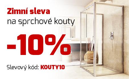 Sprchové kouty 10%