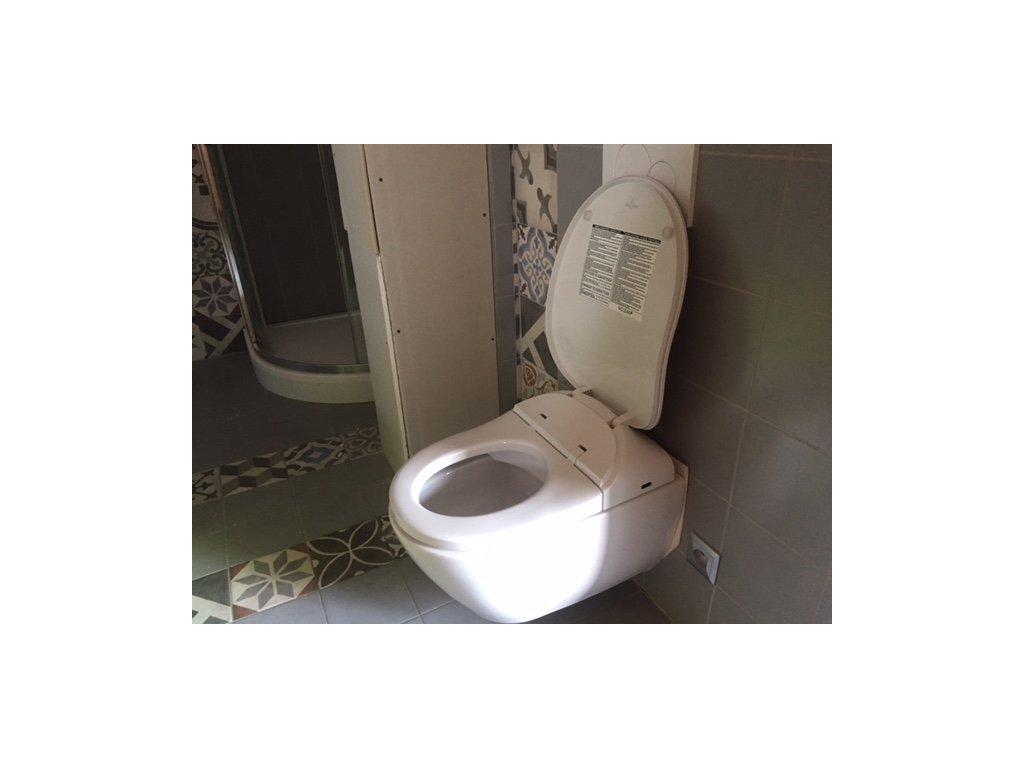 WC mísa závěsná Villeroy Boch Subway+bidetovací sedátko