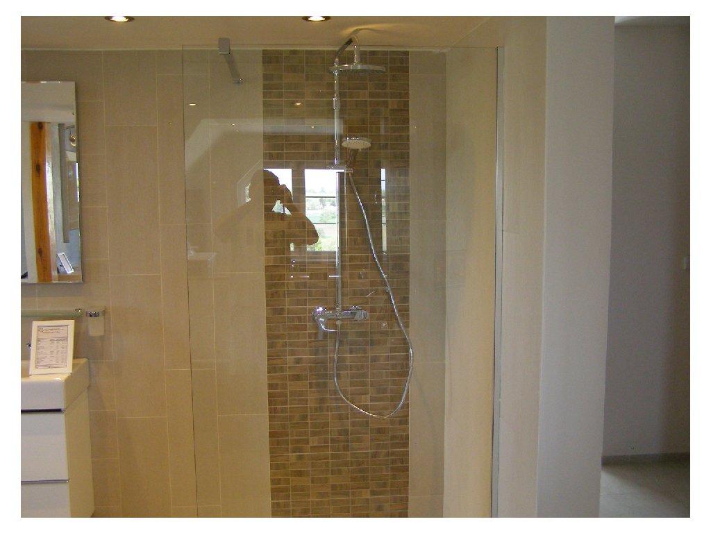 Sprchový kout - boční stěna + vanička Jika