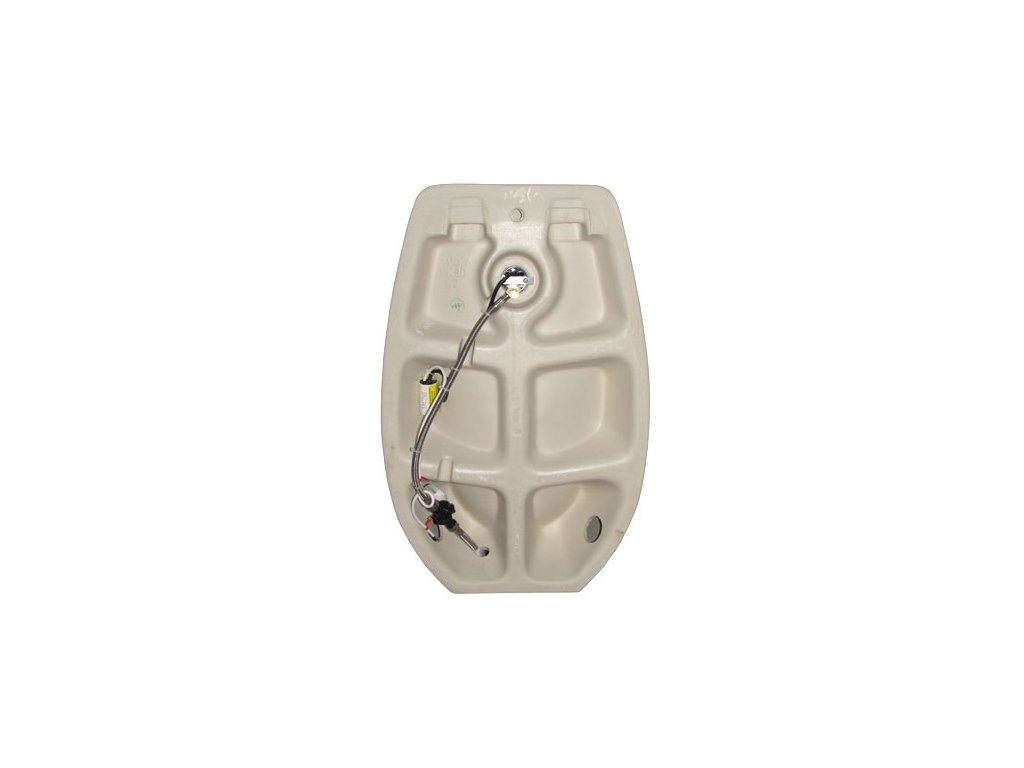 Jika Domino urinál s otvorem pro oplachovací růžici s infračerveným senzorem, H8411010004871