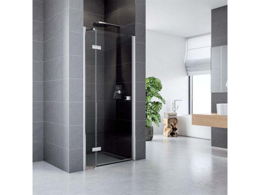 Sprchové dveře, Fantasy, chrom ALU