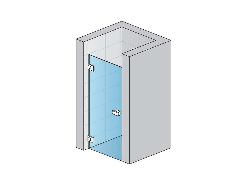Jednokřídlé dveře MELIA