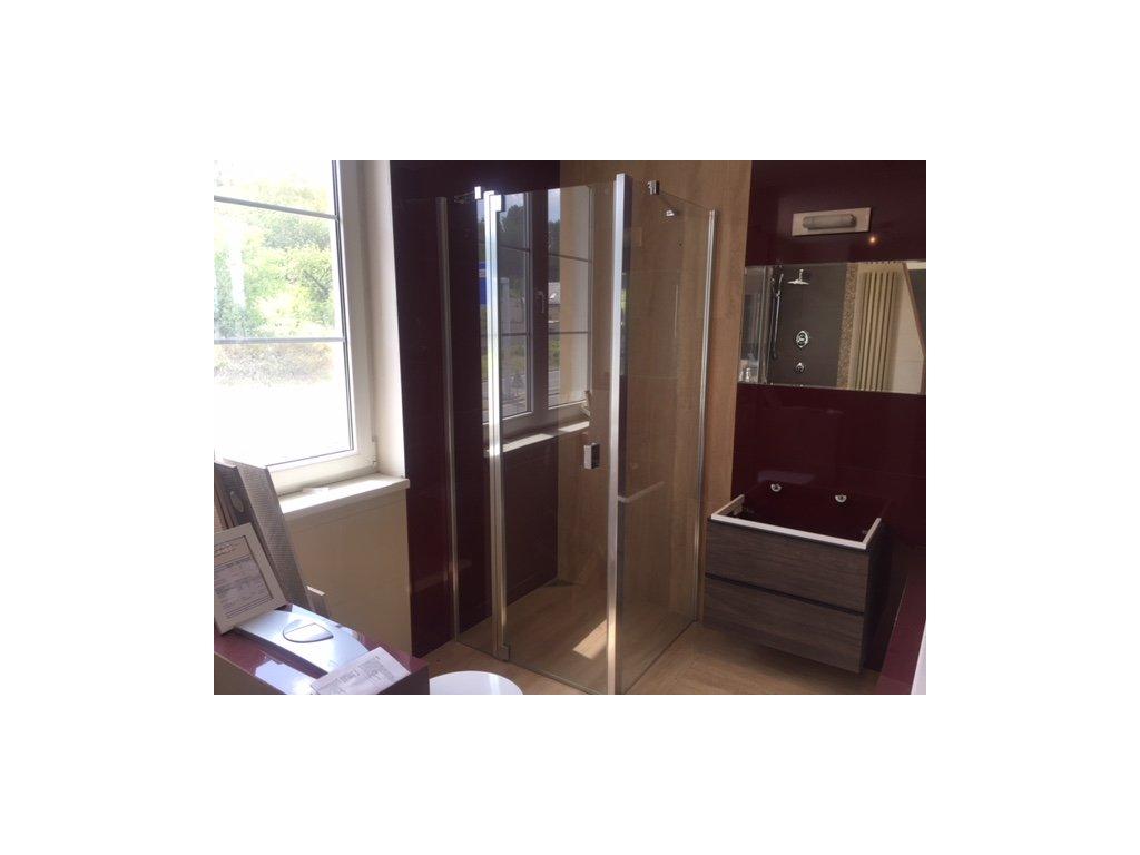 sprchové dveře + boční stěna 90x90x200 Kermi