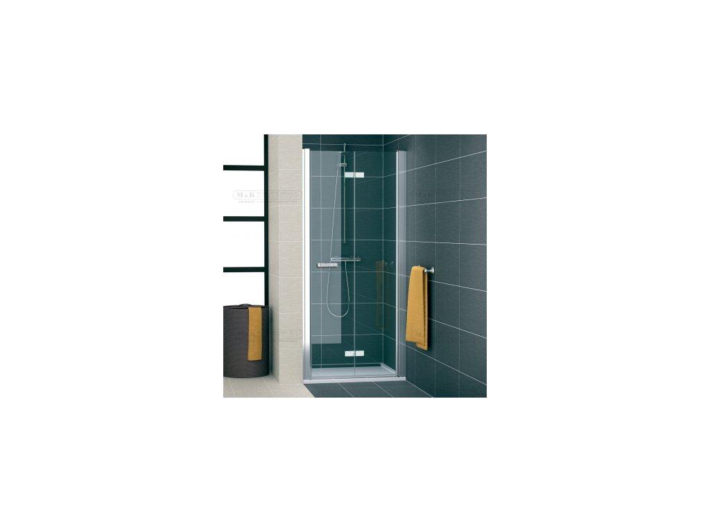 sprchové dveře zalamovací 90x195 Sanswiss
