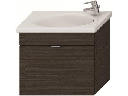 koupelnová sestava- Skříňka s umyvadlem 80cm+boční skříňka+zrcadlo Jika Tigo
