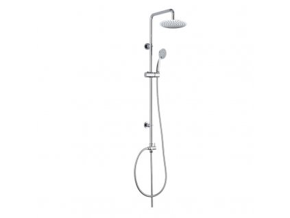 Sprchová souprava  Sonáta, nerezová hlavová sprcha a třípolohová ruční sprcha